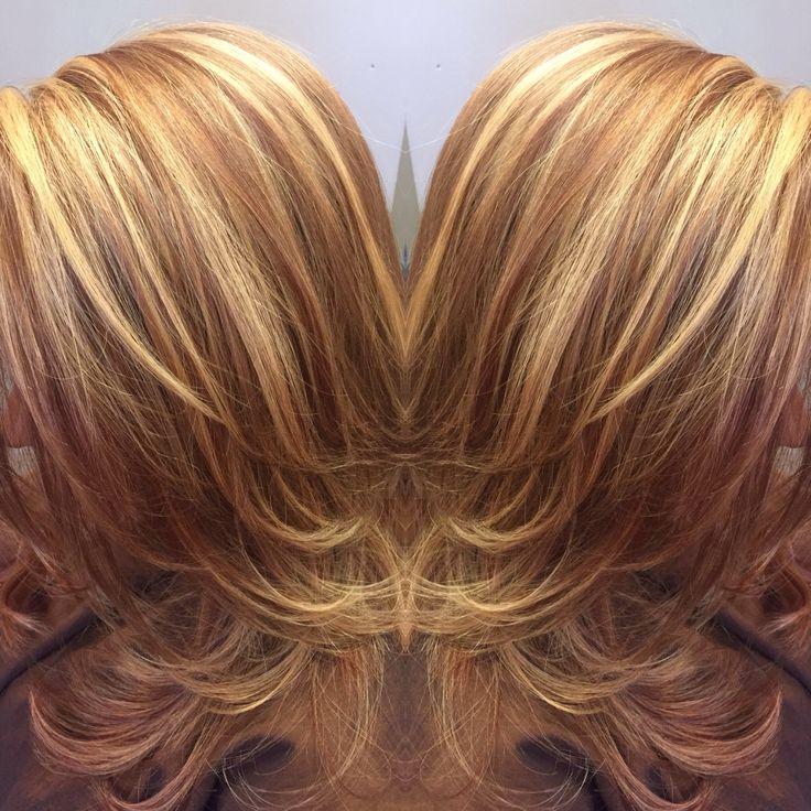 Best 25 golden blonde highlights ideas on pinterest golden perfect warm brown lowlights and golden blonde highlights highlight service performed by krystal dupree urmus Choice Image