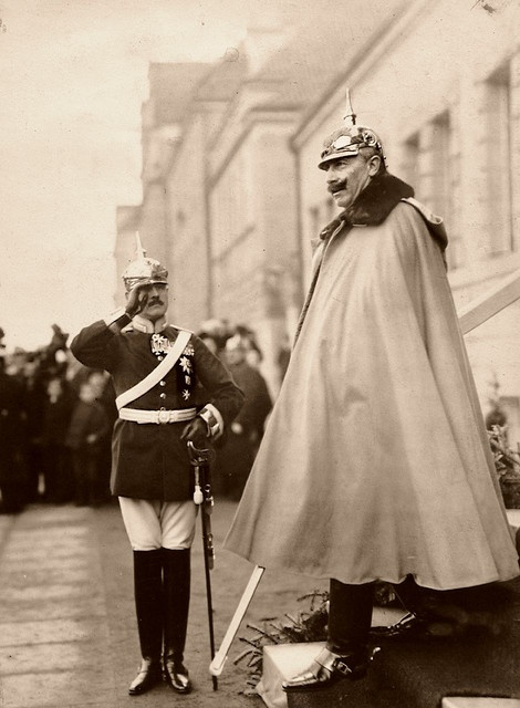 Wilhelm II the last German Emperor and King of Prussia. Mercurial, insecure and easily led, he had a fanatical hatred of his cousin, England's King George VII, and a need to be considered leader of a Great Power (despite Germany being a small country with little international clout).