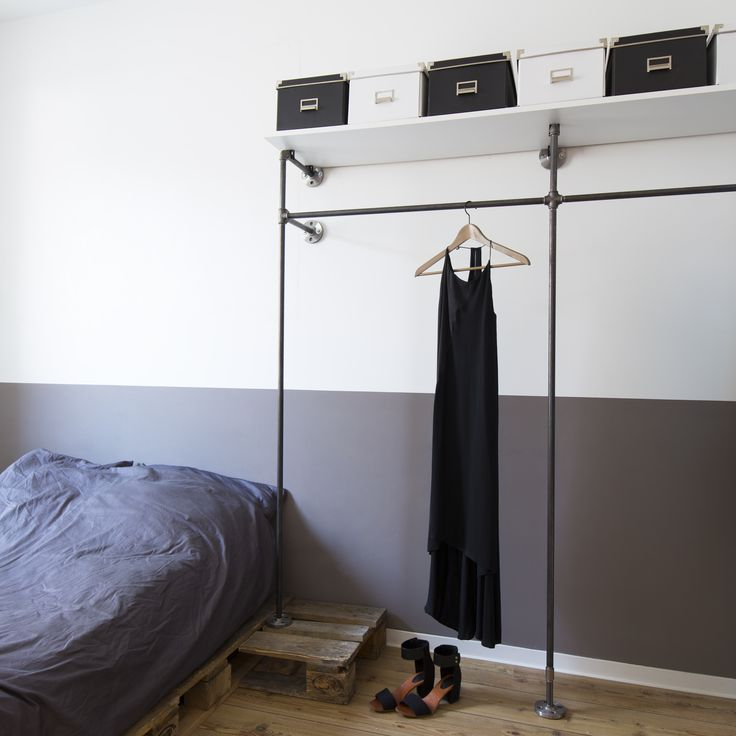 33 besten open wardrobes offene kleiderschr nke bilder auf pinterest industriedesign. Black Bedroom Furniture Sets. Home Design Ideas