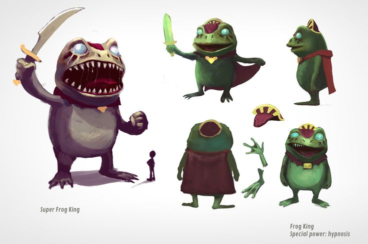 FrogKing_ConceptArt http://www.kickstarter.com/projects/171497873/festival-of-magic