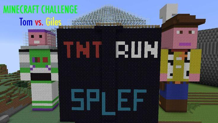 Minecraft Challenge - TNT Run & Spleef