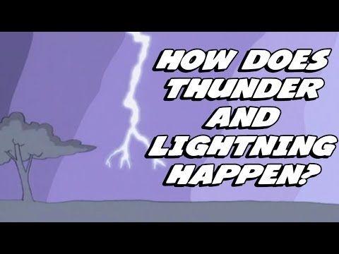 ▶ How Does Thunder And Lightning Happen? - YouTube