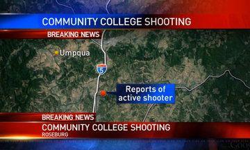 Mass Shooting At Umpqua Community College In Oregon, 13 Reported Dead