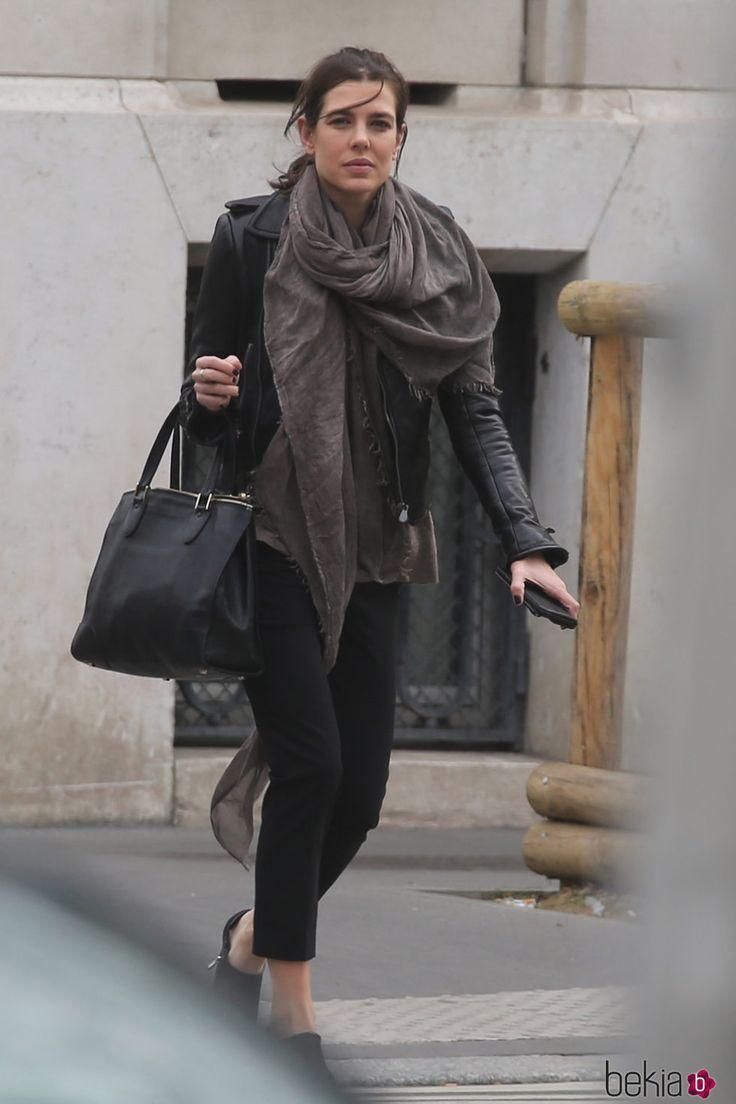 Carlota Casiraghi en París tras comer con Dimitri Rassam