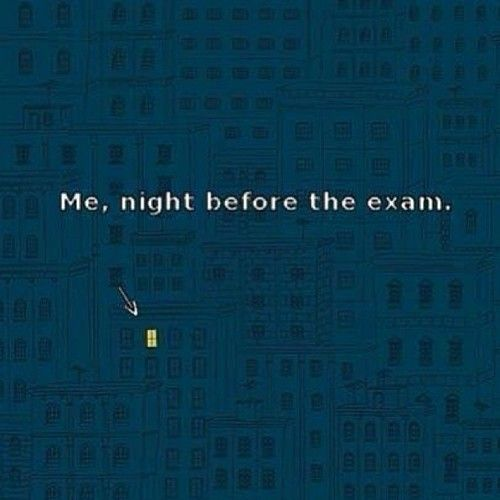 how to study one night before exam