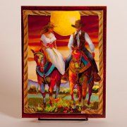 Wedding Wishes Card with Horses - Combine with our Wedding Vase for the most talked about wedding gift for the horse lovers