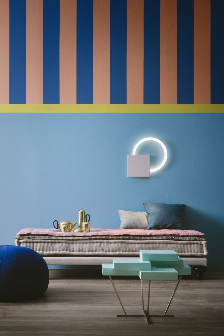 Daria Pandolfi Stripe Idea For Dexs Room