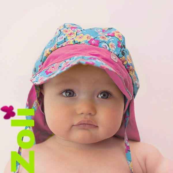 Zoli Baby and Child Sun-Hat (Hanami) - The Baby Sling Boutique