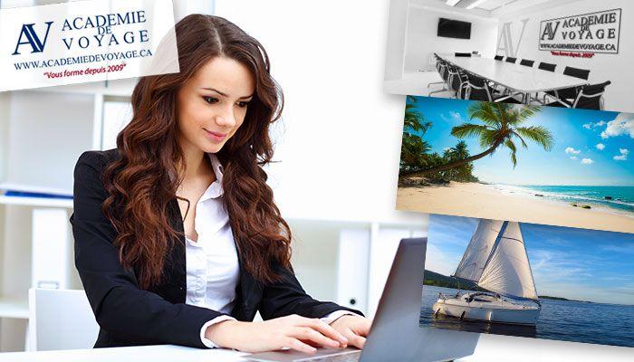 99$ pour une formation en ligne d'agent de voyages externe (valeur de 249$) – Payez seulement 34$ maintenant!