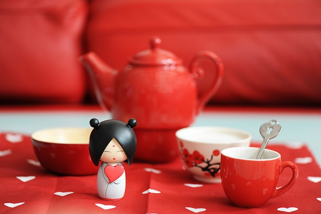 Love Breakfast kokeshi