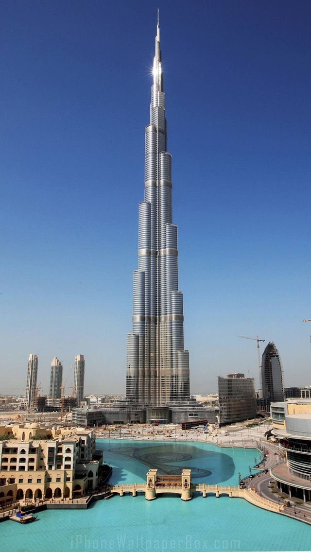 Dubai Burj Khalifa wallpaper for iPhone 5/6 plus | Cities ...