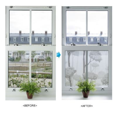 31839 forest greyblack 80 decorative frosted effet window film privacy