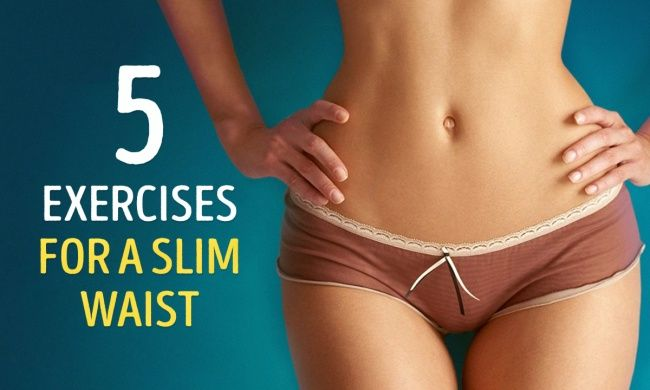 The best five exercises for a slim waist you can do at home