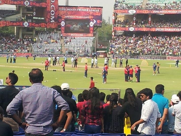 Delhi vs mumbai,2013 @Ferozeshah kotla