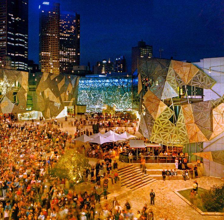 Federation Square, Melbourne.
