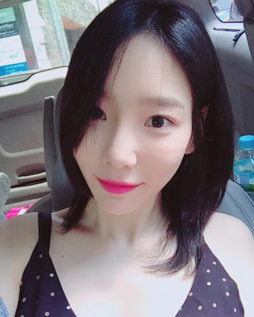 SNSD TaeYeon delights fans with her beautiful selfie ~ Wonderful Generation ~ All About SNSD, Wonder Girls, and f(x)