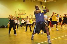 TaeBo....fun, awesome workout!