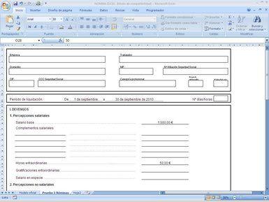 Plantillas Excel listas para ser usadas en el departamento Recursos Humanos