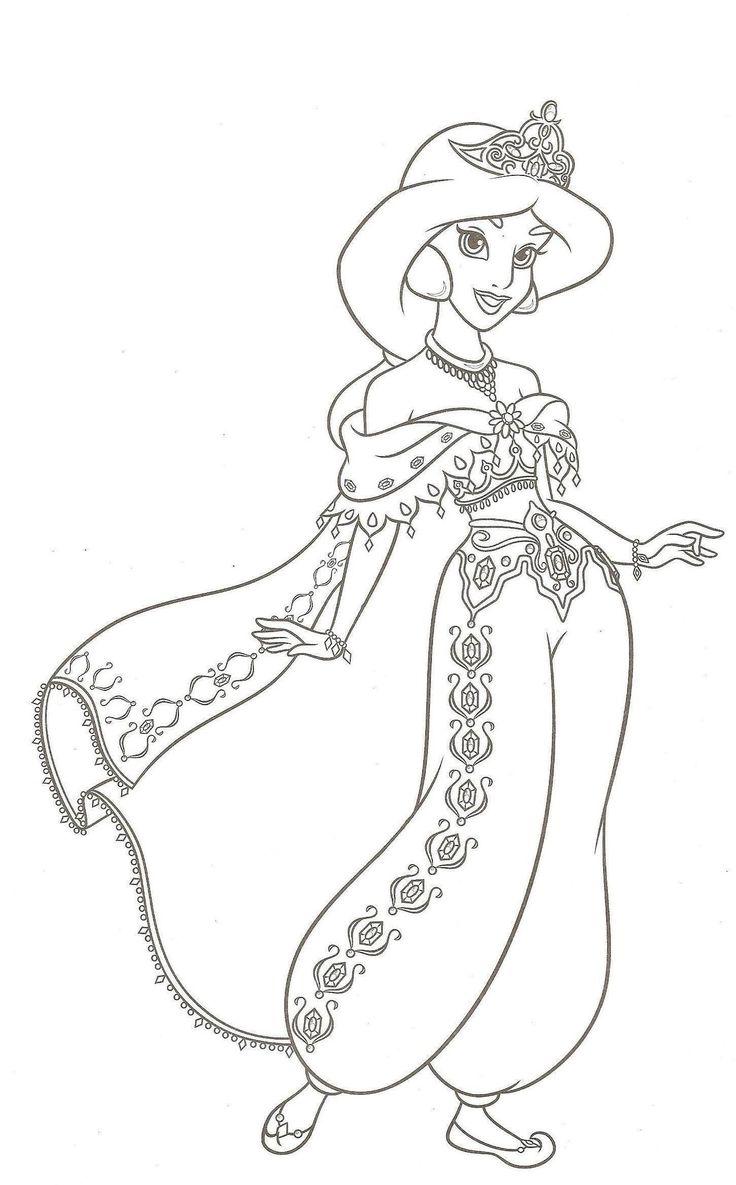 23 idées de Aladdin  coloriage disney, dessins disney, coloriage