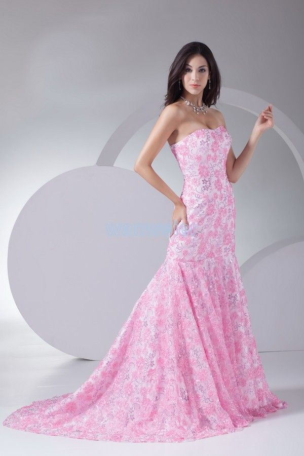free shipping new fashion 2016 lace evening gown formal dinner dress pink ball dresses vestidos dress long Homecoming Dresses
