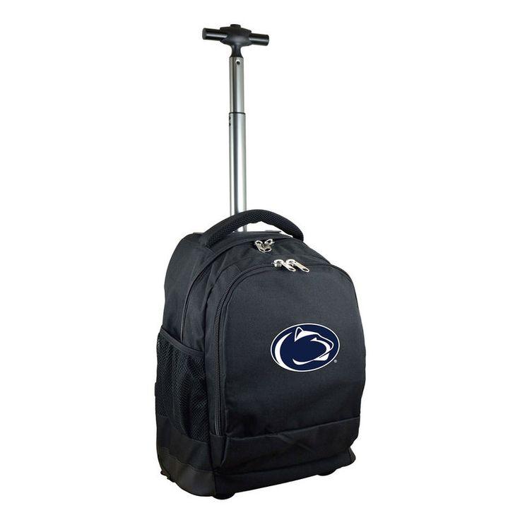 Penn State Nittany Lions 19'' Premium Wheeled Backpack - Black