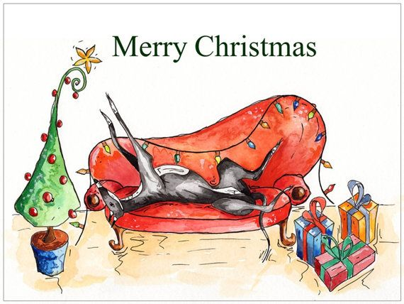 Scottish Terrier Christmas Cards