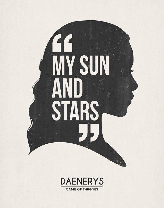 Daenerys targaryen. Drogo van de Khal. Mijn door TheSeventhArtShop