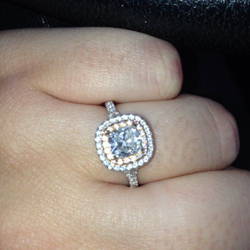 Tiffany Soleste Ring Limited Edition With Rose Gold And