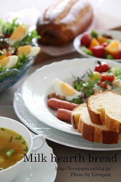 ミルクハースブレッド by Lovepanさん | レシピブログ - 料理ブログの ...