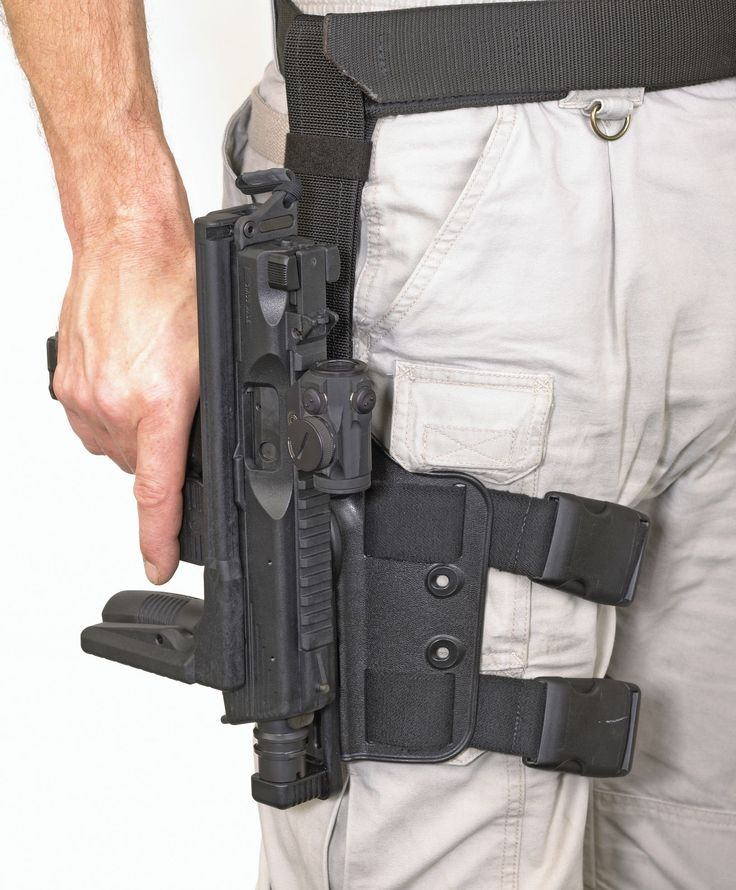 Patrol rig. Ruger MP9 with quick-draw holster