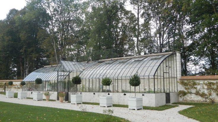17 migliori idee su serre adoss e su pinterest la serre cabane jardin e ca - Serre de jardin adossee au mur ...
