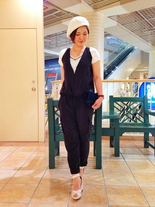 AVIREX 新潟 | YUKIHOさんのTシャツ・カットソー「AVIREX avirex(アビレックス) レディース/ メタル ビジュー Tシャツ」を使ったコーディネート