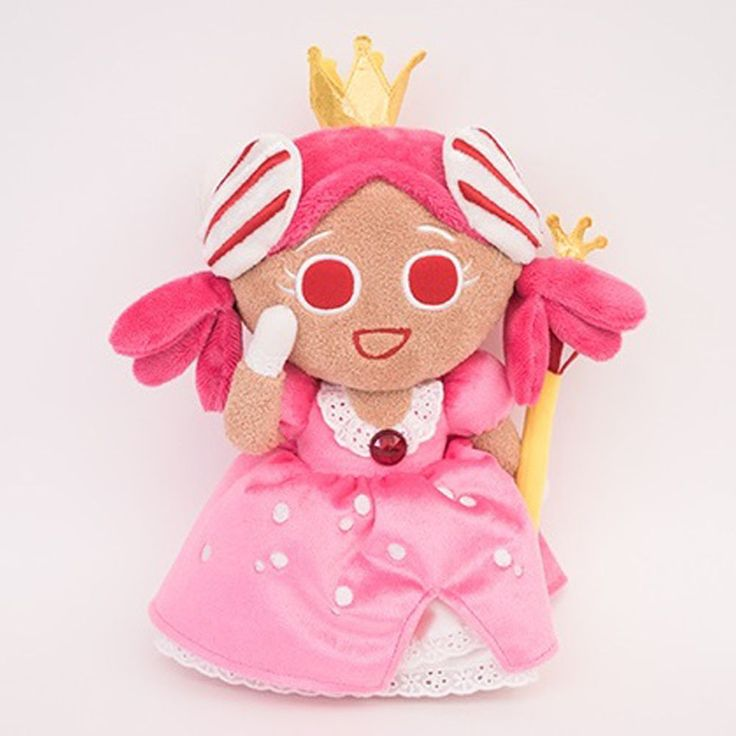 Korea Moblie Game Cookie Run Character Plush Doll 30cm 12in Princess Cookie  #Cookierun
