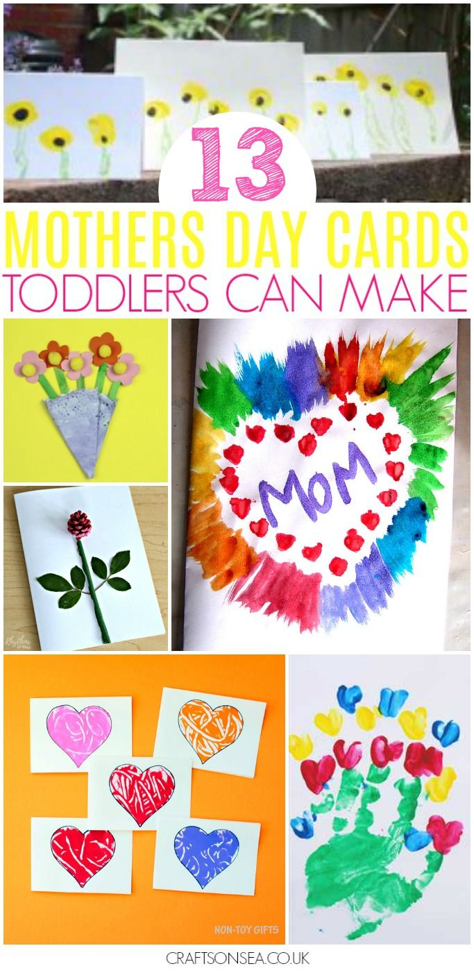 35 Easy Mothers Day Crafts For Toddlers Easy Mother S Day