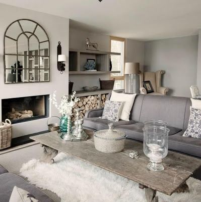 20 fantastic grey living rooms #LivingRoom #GreyLivingRoom