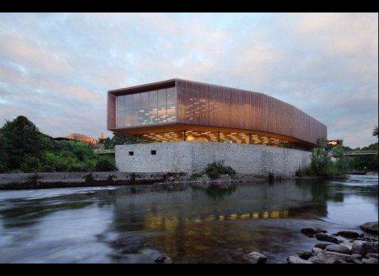 The Oloron-Sainte-Marie Multimedia Centre // Pascale Guedot