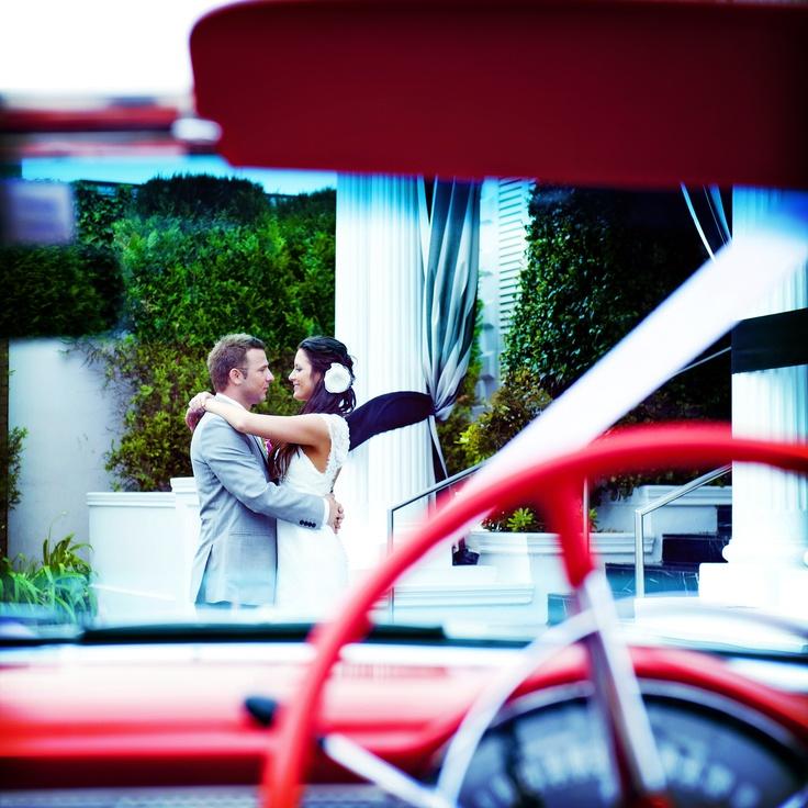 Wedding photography Melbourne - Red 57 Chev... Con Tsioukis of Alex Pavlou Photography