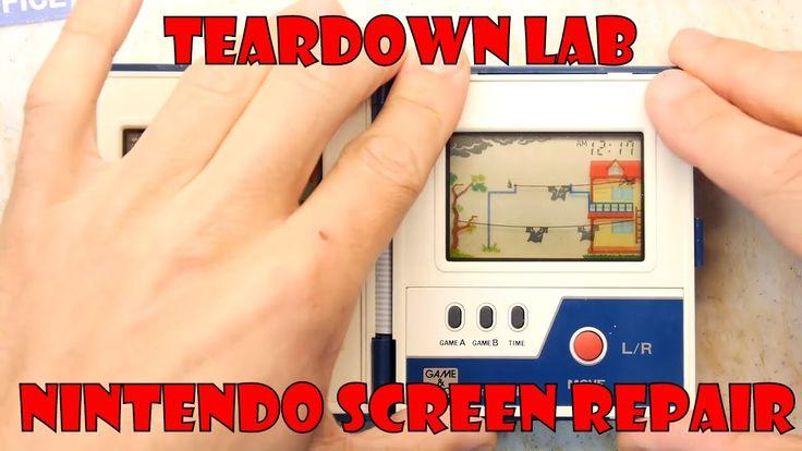 Nintendo Rain Shower Game and Watch - Faint Dim Screen Repair I show you how to repair dim screens on classic Nintend Game & Watch units! #retrogaming repair! http://youtu.be/i0cdavOM1L0