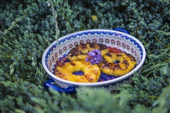 Jak zrobić Grillowane Ananasy ( Pyszny Deser z grilla )