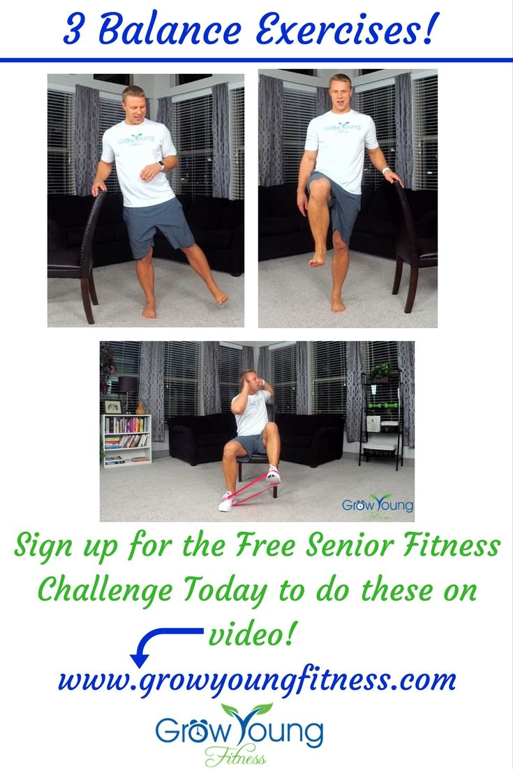 Pin by Grow Young Fitness on Exercises for seniors low