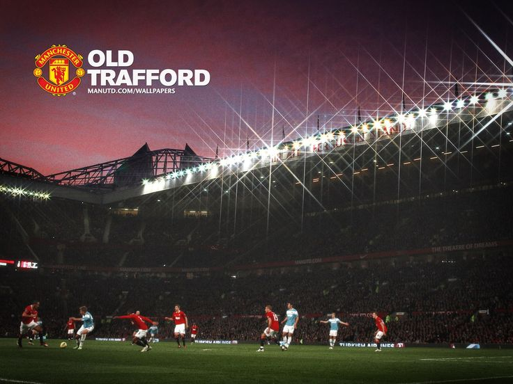 old-trafford-saf-stand-at-night-452888.jpg (1600×1200)