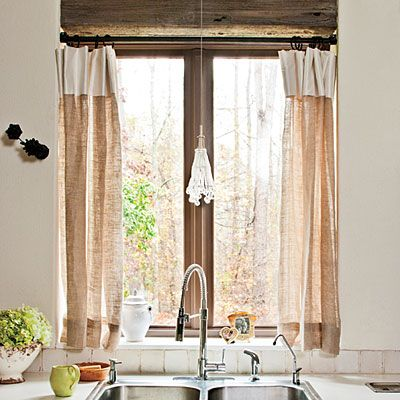 Decor To Adore Storybook Cottage Kitchen Curtains Sneak