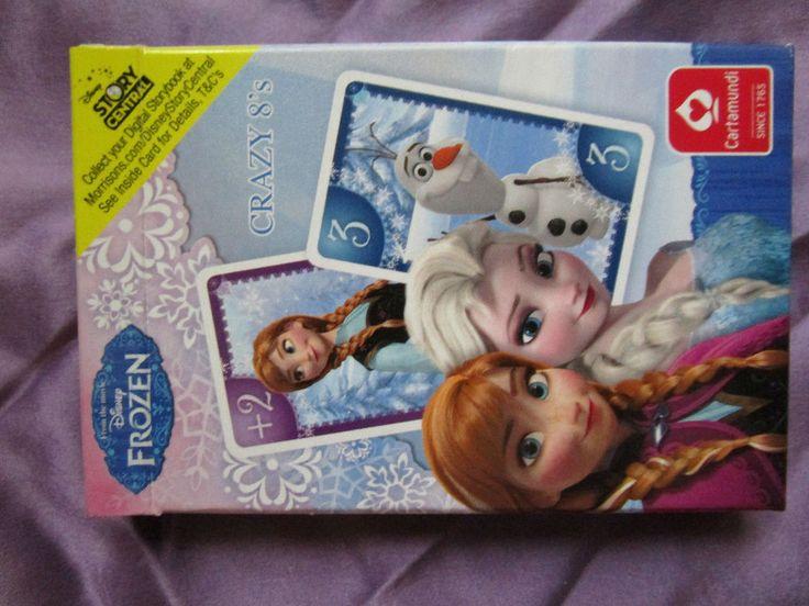 Frozen Cards Game Disney Cartamundi Brand New cello wrapped #FrozenDisneyCartamundi