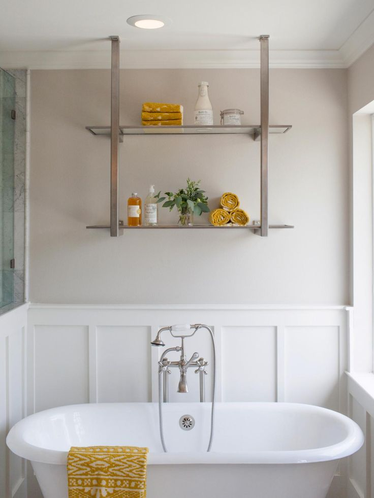 See how joanna expertly mixed his rustic style with her for See bathroom designs