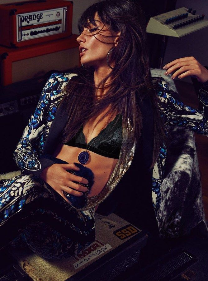 Fashion editorial|Rock affaire: Lily Aldridge by David Roemer for S Moda | http://www.theglampepper.com/2014/11/12/fashion-editorialrock-affaire-jerry-hall-per-tuttelily-aldridge-by-david-roemer-for-s-moda/
