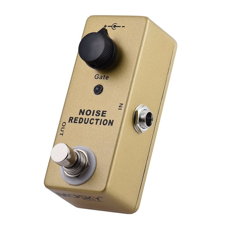 MOSKY Noise Reduction Mini Guitar Effect Pedal eliminates hiss in pedal chain #Mosky #EffectsPedals