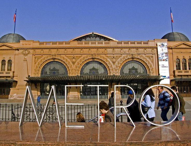 Estación Mapocho Cultural Centre in Santiago city.