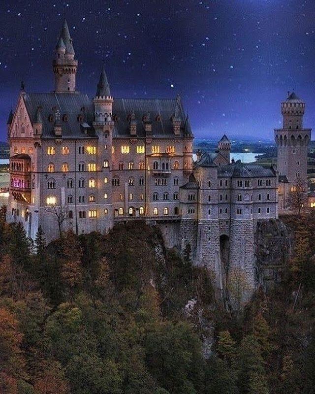 Schloss Neuschwanstein Schloss Neuschwanstein Schloss Bayern Deutschland Burgen