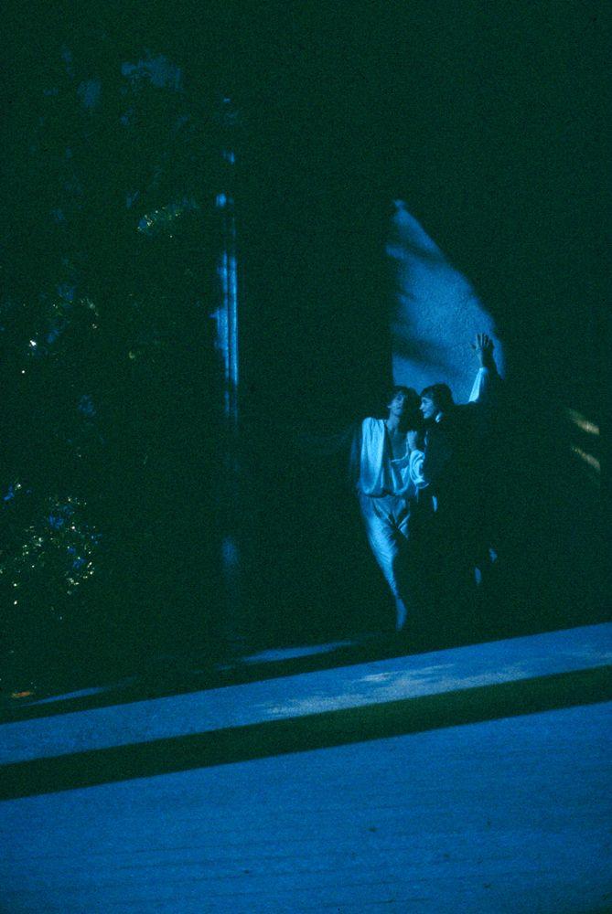1985/86 Il trionfo dell'amore di Pierre de Marivaux, regia di Antoine Vitez, foto di Luigi Ciminaghi