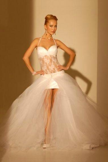 Подгонка свадебного платья